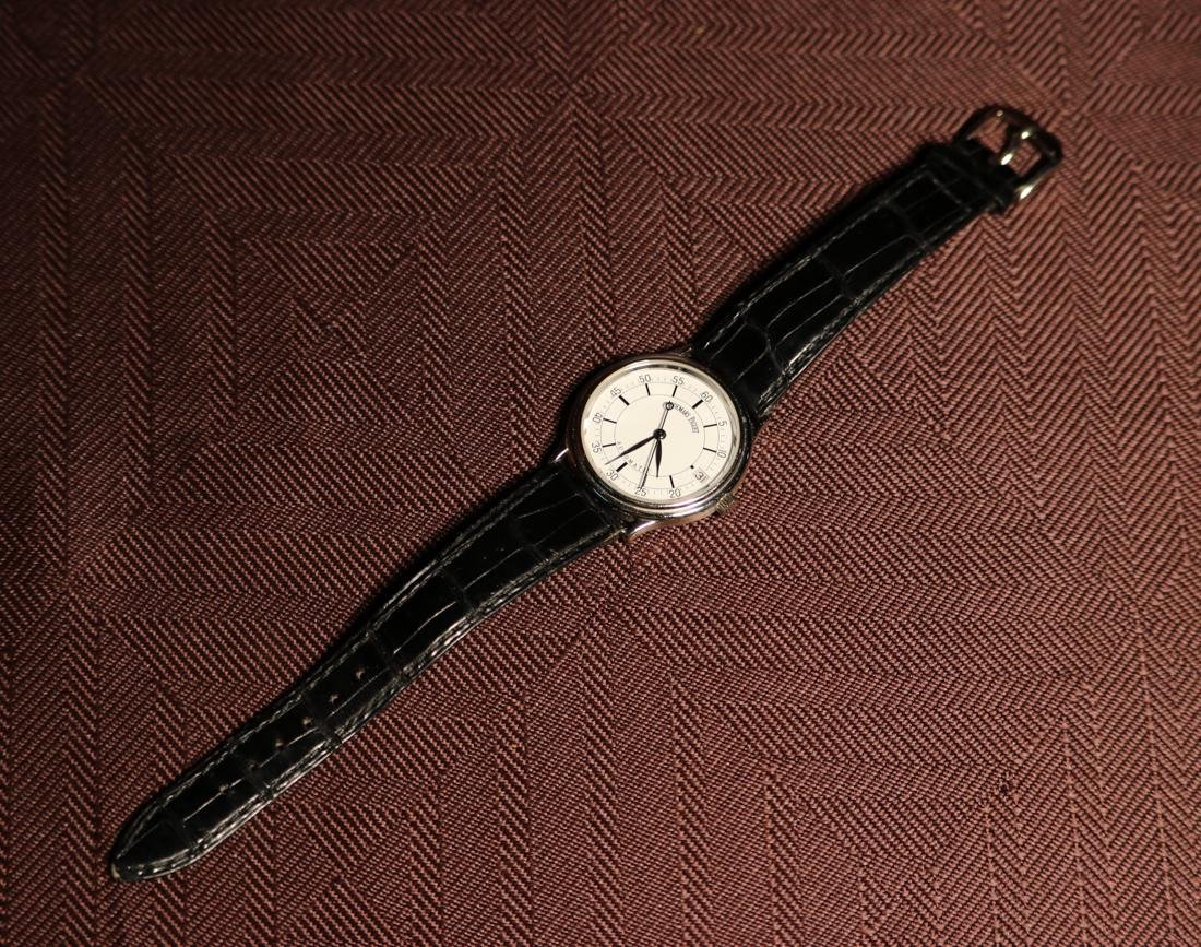 Audemars Piaget 18K White Gold Automatic Man's Wrist