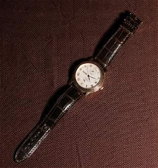 Tourneau 18K Yellow Gold Automatic Man's Wrist Watch
