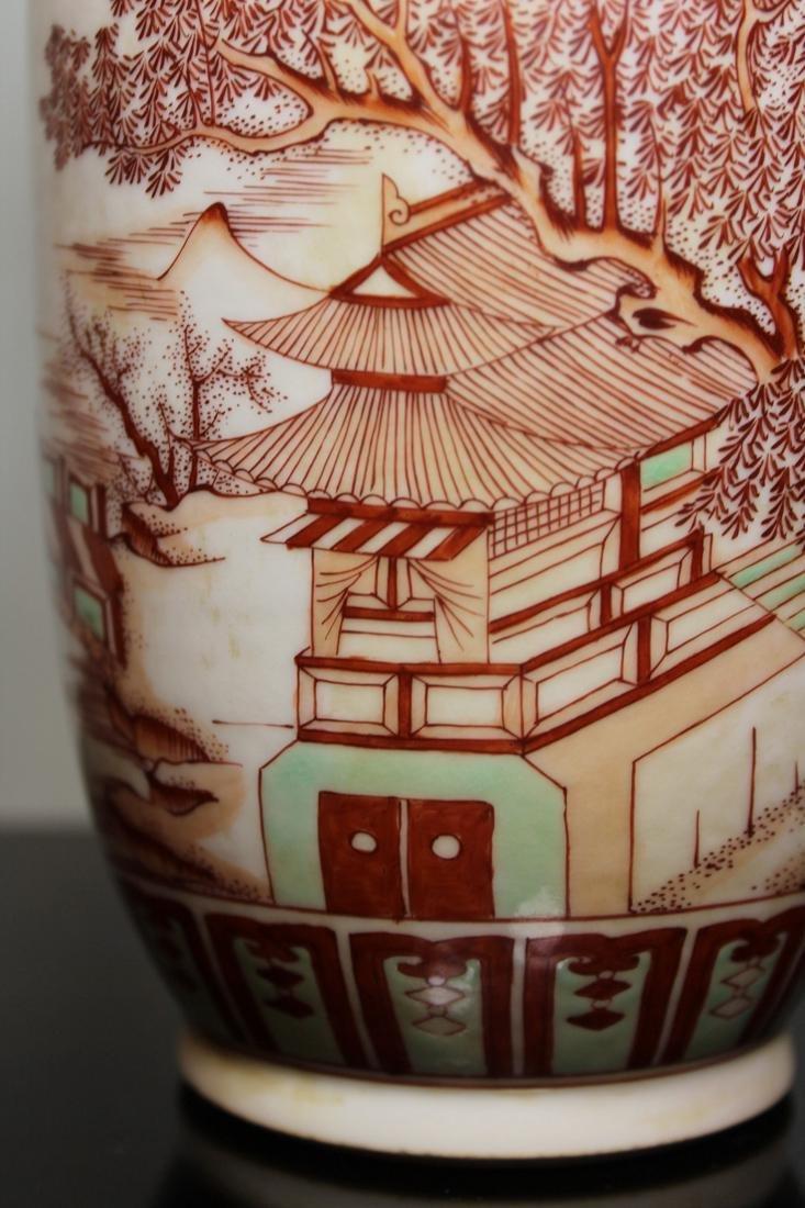 Chinese Roueat Vase with Scholar Landscape - Albert - 5