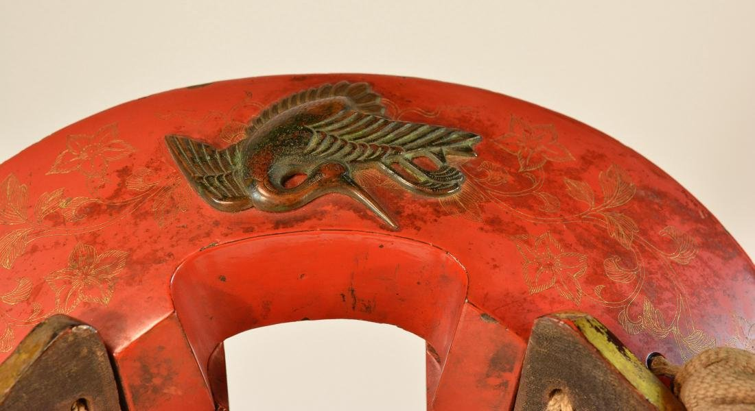 Japanese Lacquered Horse Saddle with Original Fitting - 3