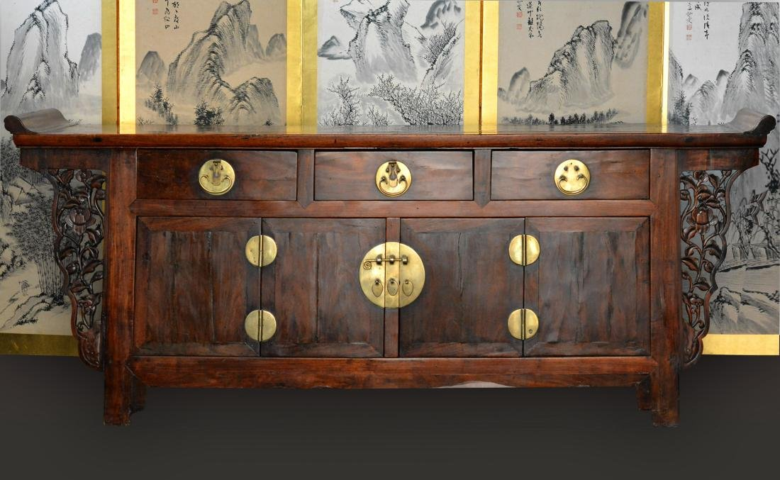 Chinese Hardwood Altar Table - 2
