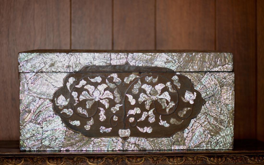 Antique Korean Lacquer Box - 16/17th cen