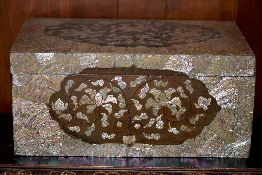 Antique Korean Lacquer Box - 16/17th cen - 9