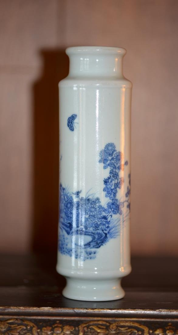 Chinese Blue White Porcelain with Floral Motif