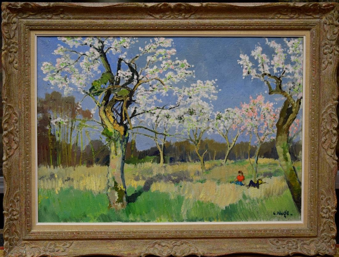 Oil Painting by klug Constatine - Wally Finly Galler