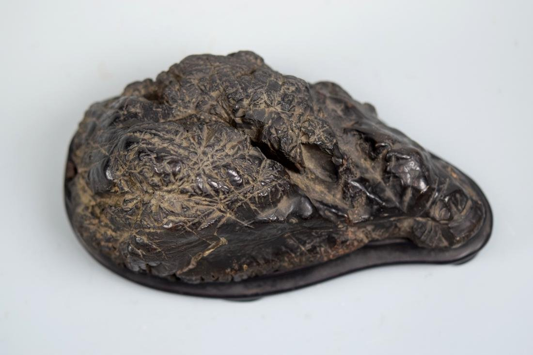 Chinese Scholar Rock with Rosewood Base - 5