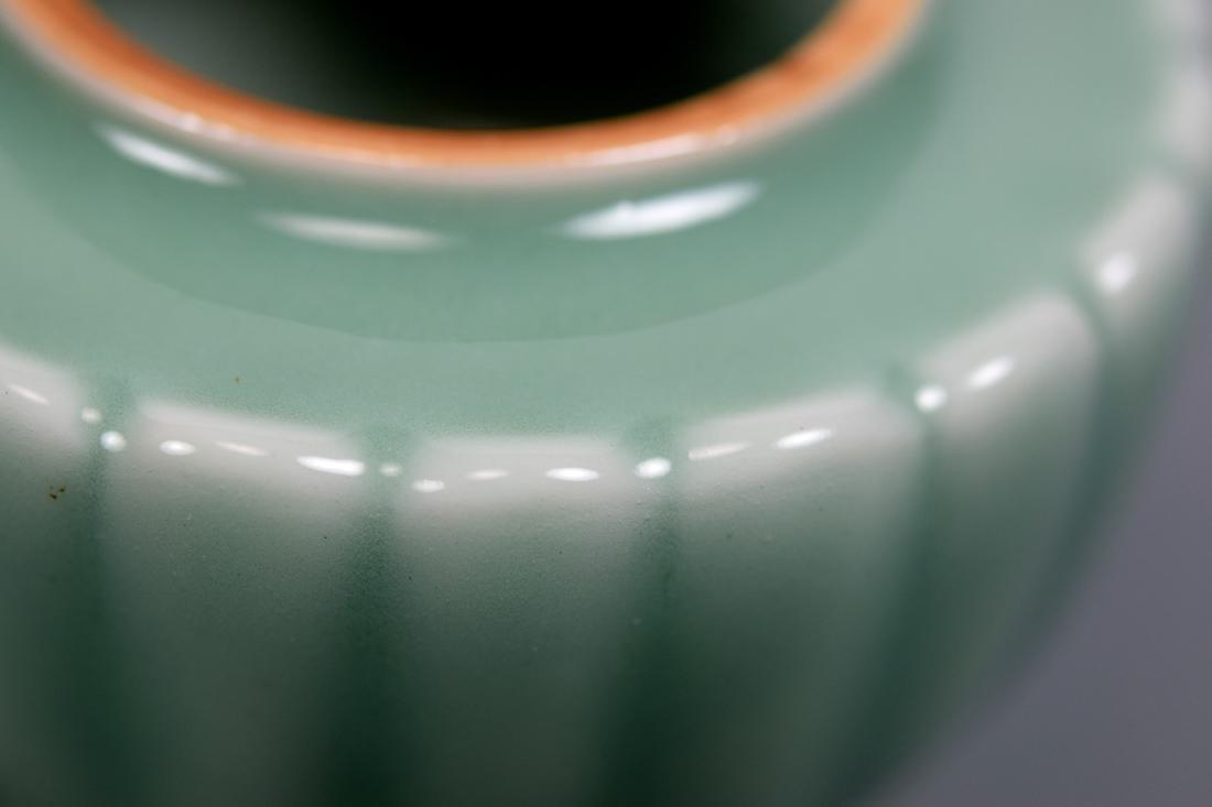 Japanese Celadon Porcelain Covered Censer - Makuzo - 6