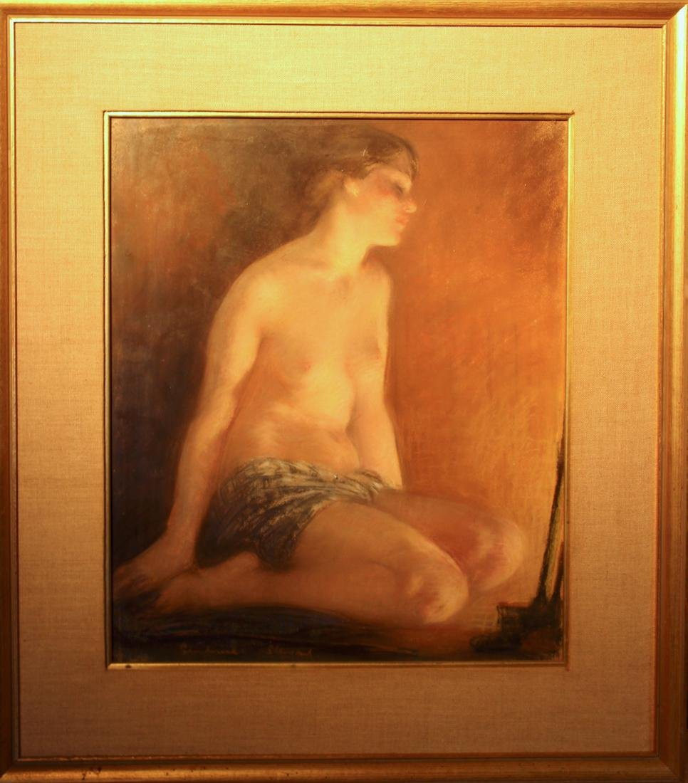 Oil Painting of Nude by Janet Agnest (Combrae Stewart)
