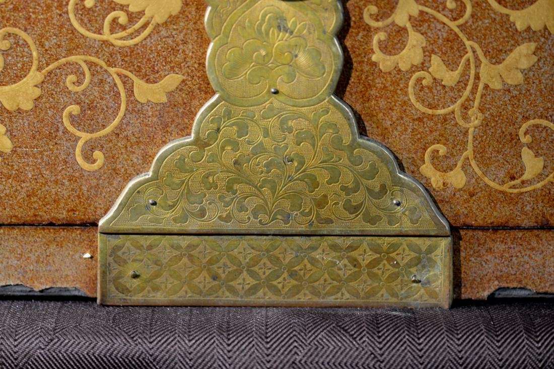 Rare Japanese Lacquer Trunk by Togugawa Familly - 4