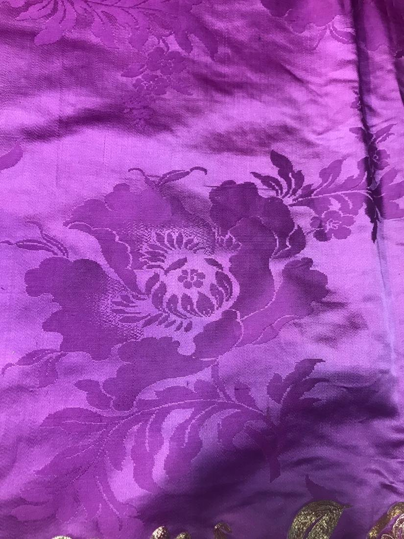 Large Chinese Purple Embroidery - 7