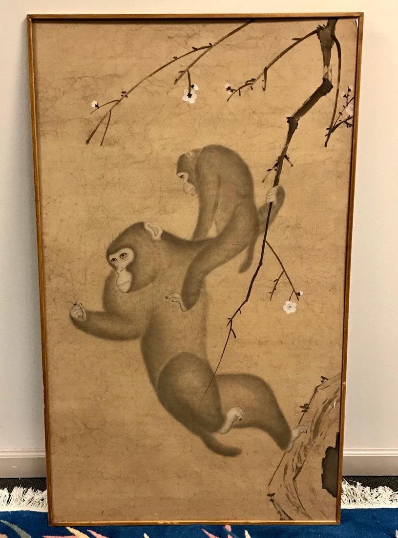 Japanese Painting of Monkey