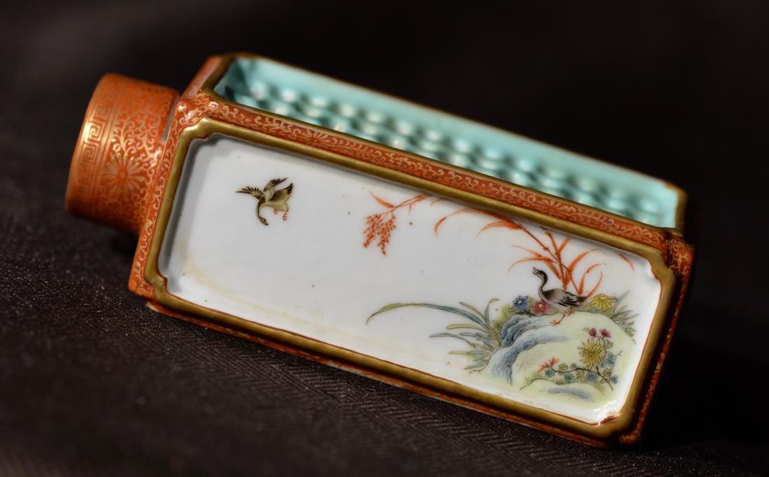 Chinese Porcelain Criket Holder