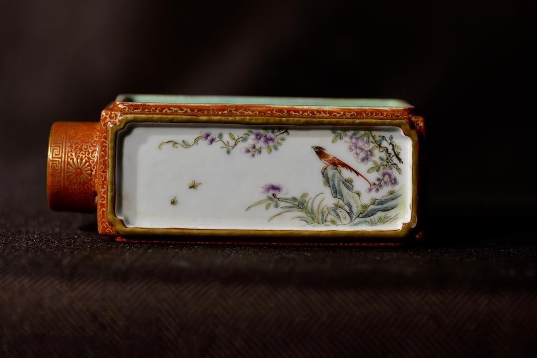 Chinese Porcelain Criket Holder - 5
