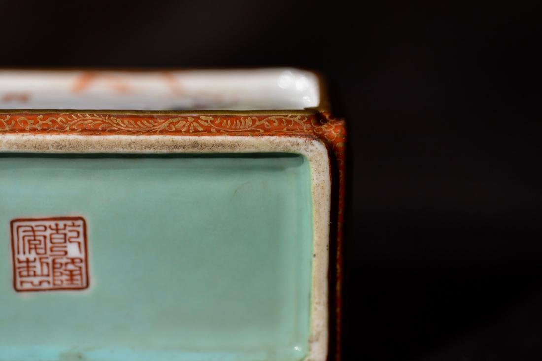 Chinese Porcelain Criket Holder - 8