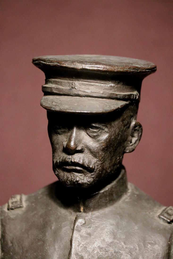 Japanese Bronze Sculpture of a General - 2