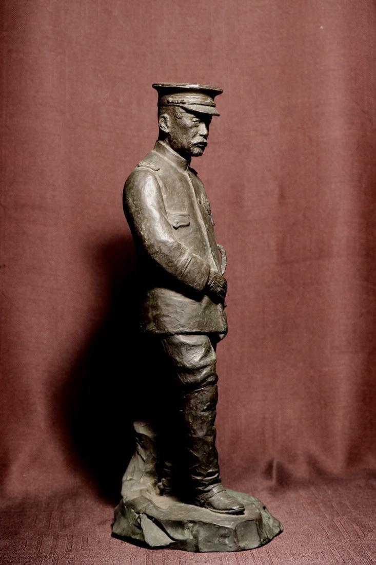 Japanese Bronze Sculpture of a General - 5