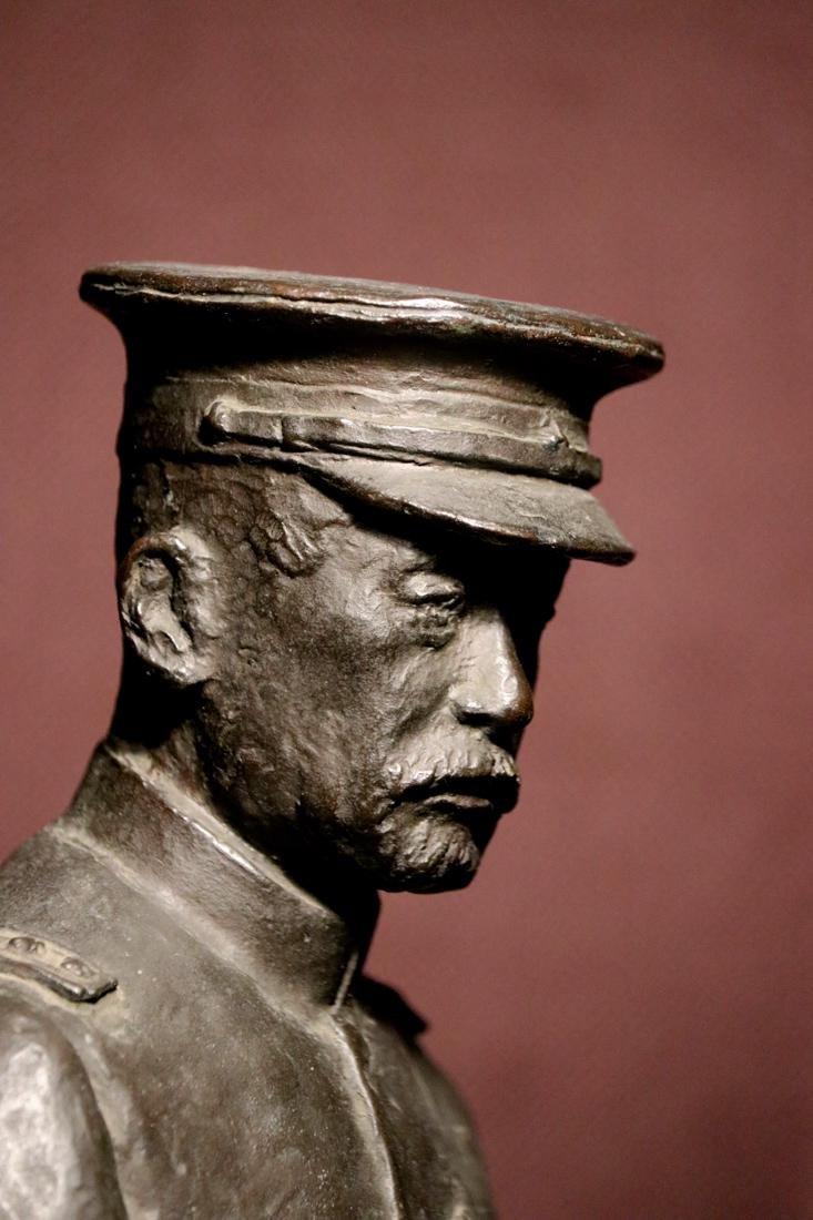 Japanese Bronze Sculpture of a General - 6