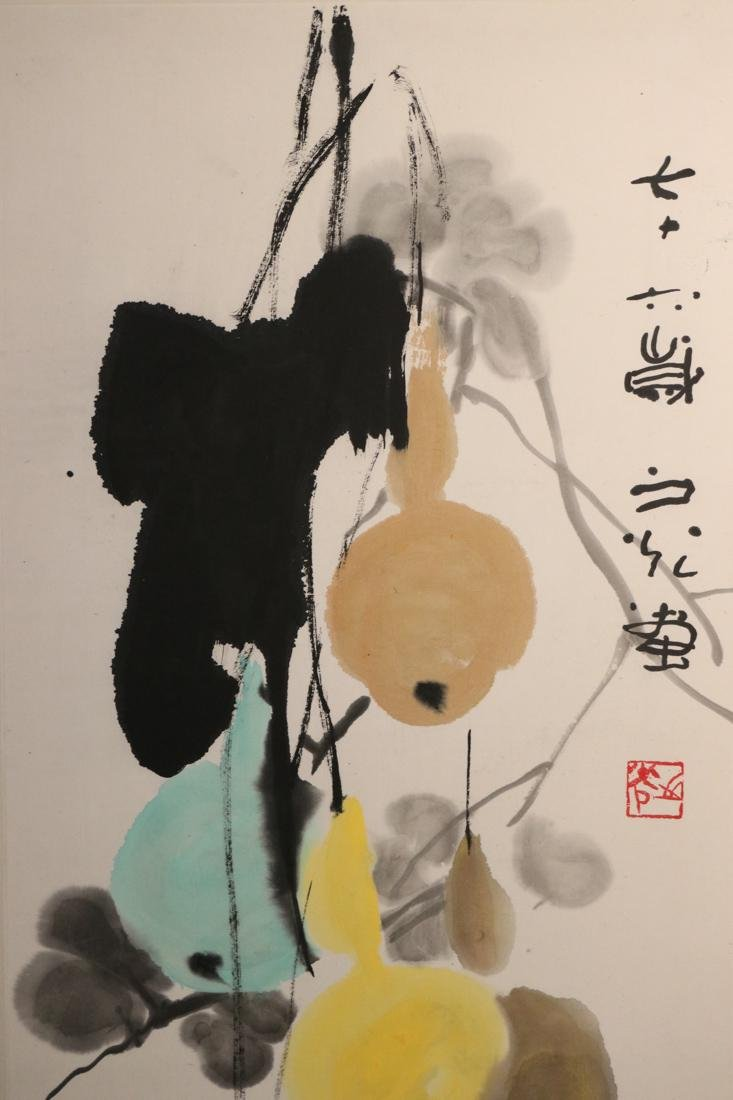 Chinese Water Color Painting by Xie Zhi Guang - 3