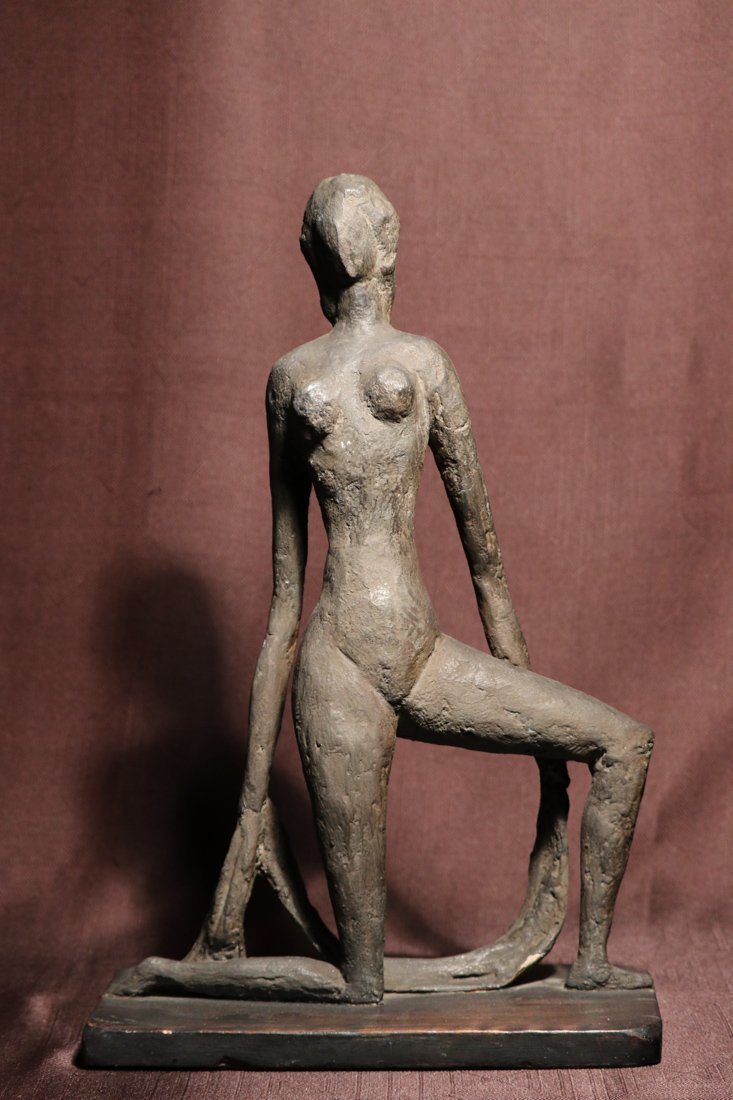 Mid Centry Plaster Sculpture - Signed Dated 67 - Albert