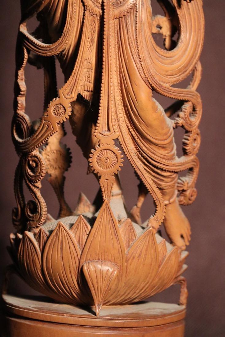 Indian Sandle Wood Carving of a Dancing Shiva - Albert - 4