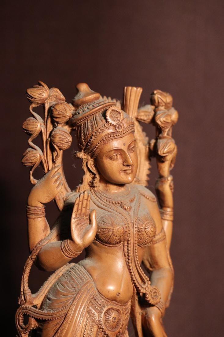 Indian Sandle Wood Carving of a Dancing Shiva - Albert - 5