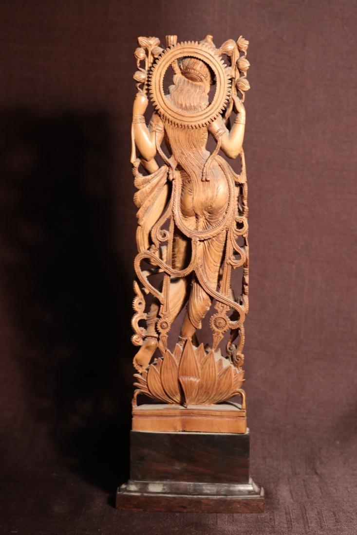 Indian Sandle Wood Carving of a Dancing Shiva - Albert - 7