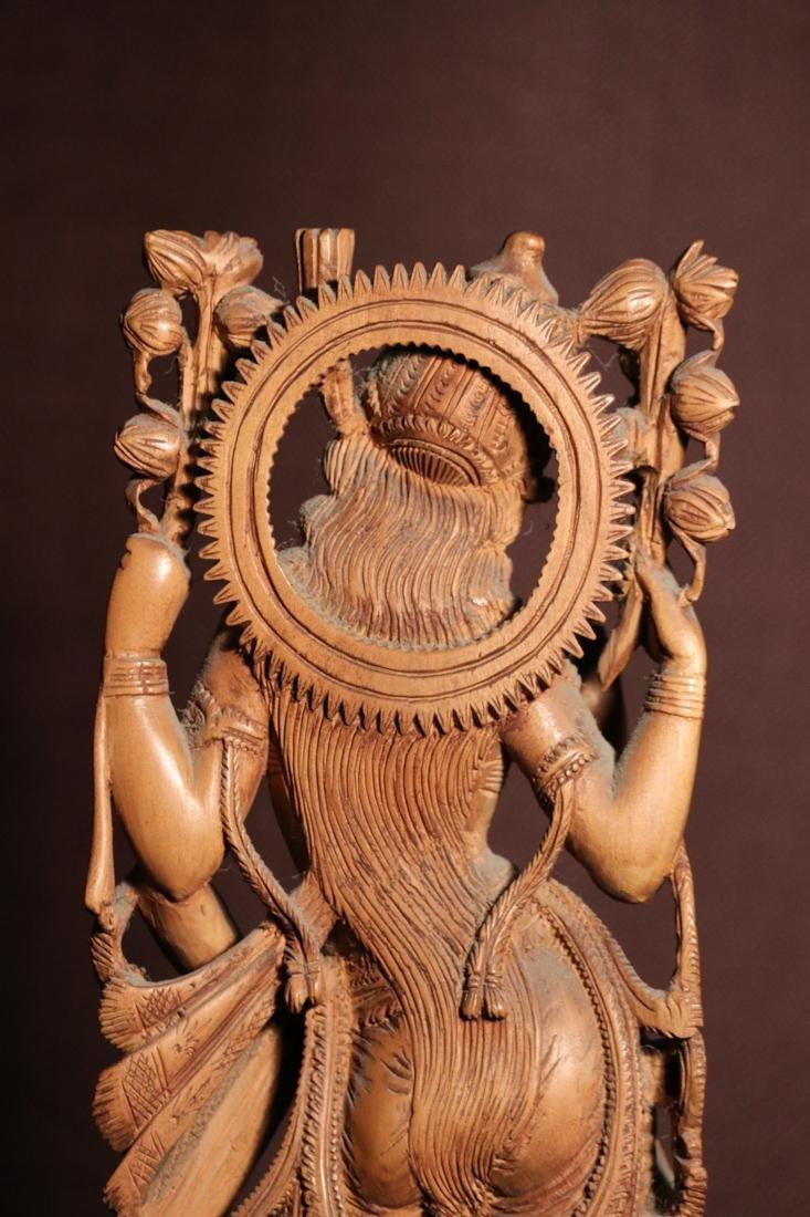 Indian Sandle Wood Carving of a Dancing Shiva - Albert - 8