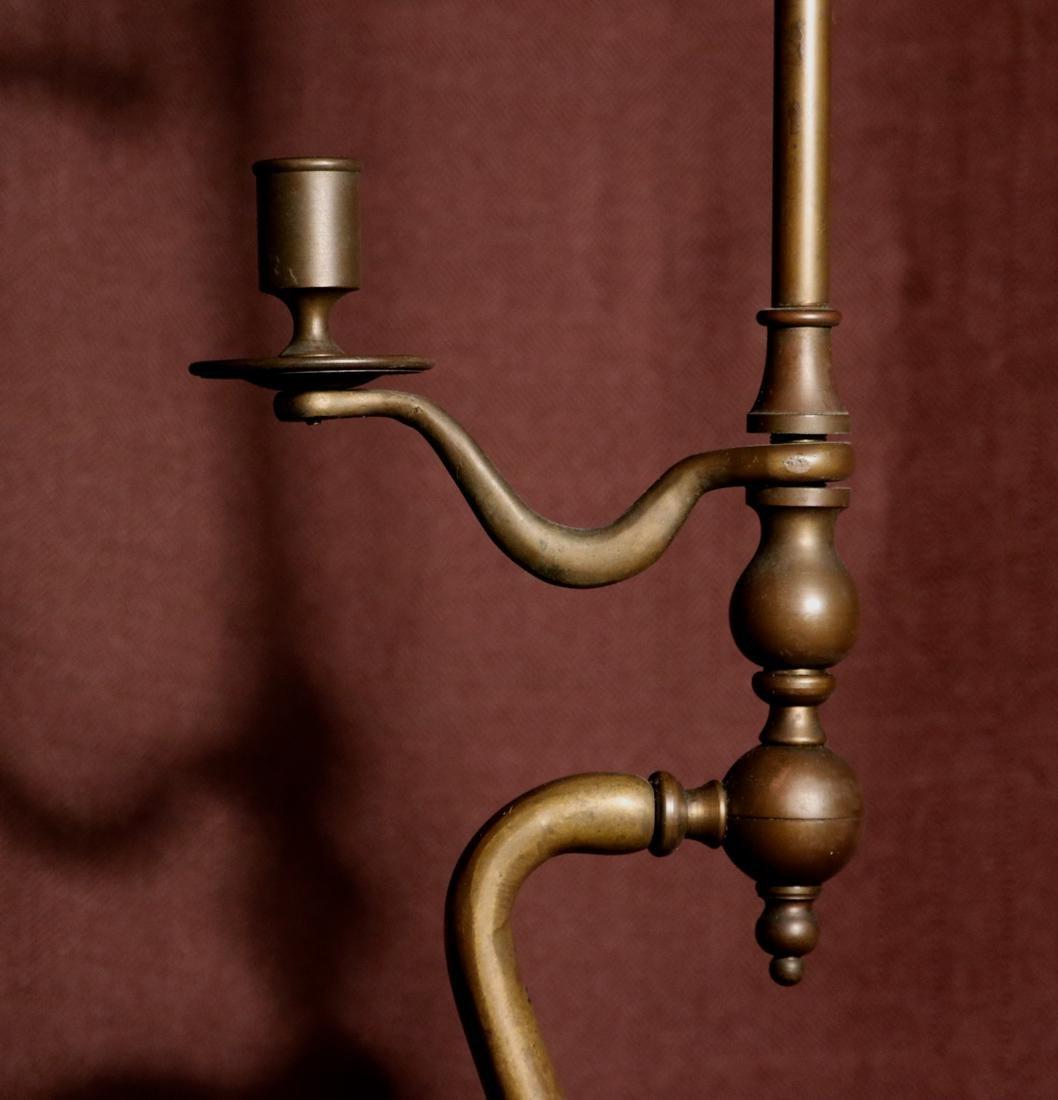Rare English Bronze Weighting Scale - Albert Gallatin - 2