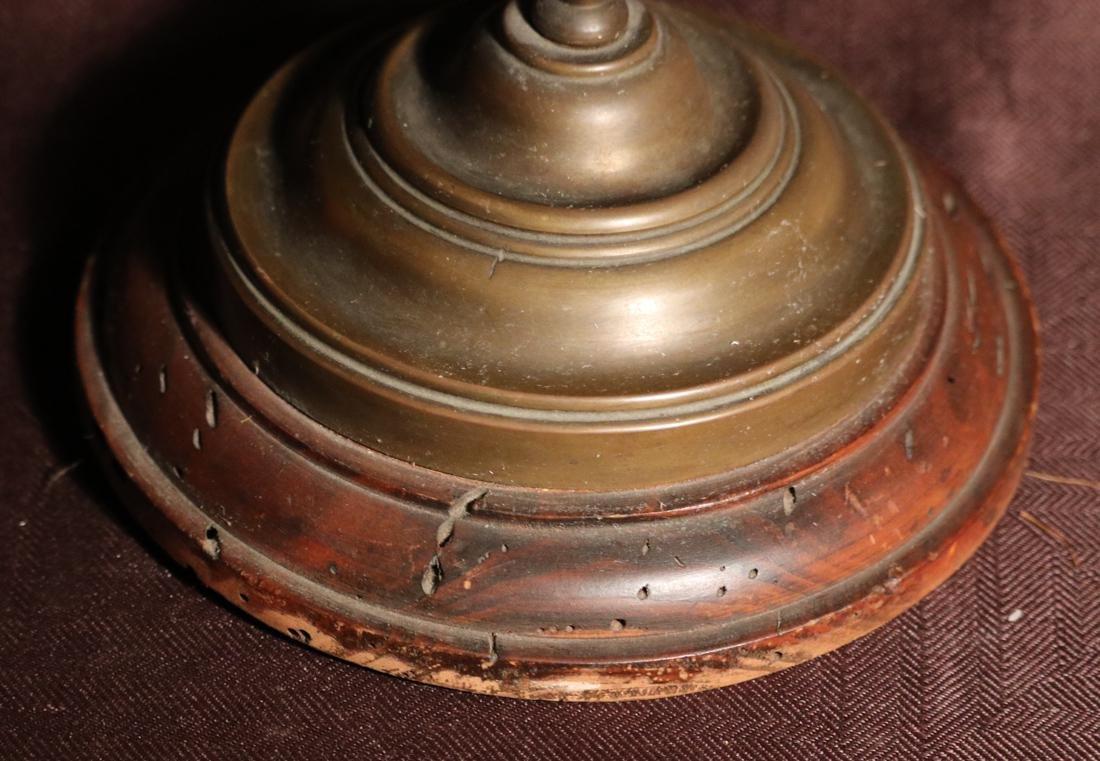 Rare English Bronze Weighting Scale - Albert Gallatin - 4