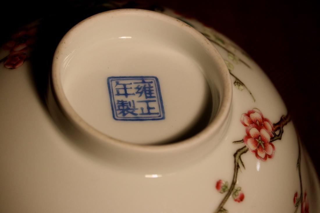 Chinese Porcelain Bowl with Wood Base - Albert Gallatin - 9