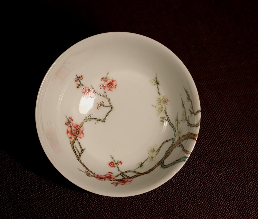 Chinese Porcelain Bowl with Wood Base - Albert Gallatin - 7