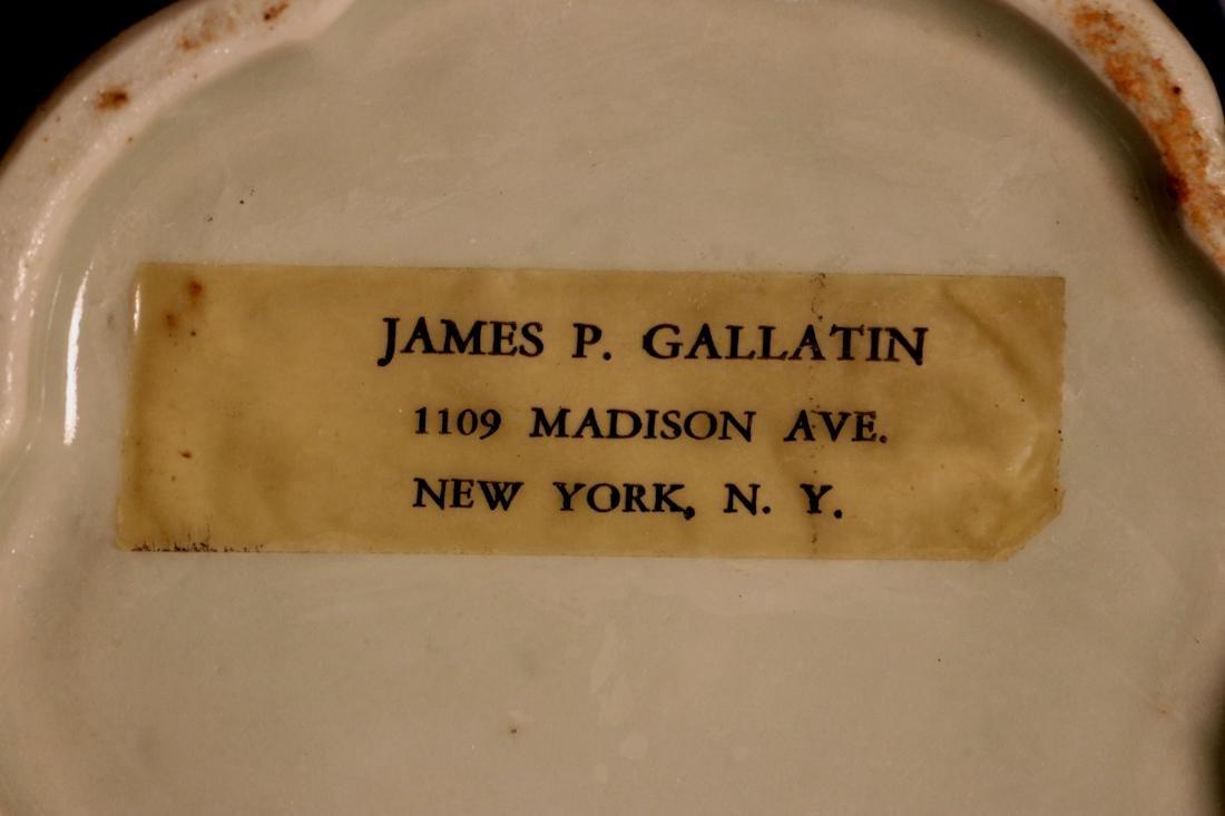 Chinese Blue White Porcelain Jar - James Gallatin - 9