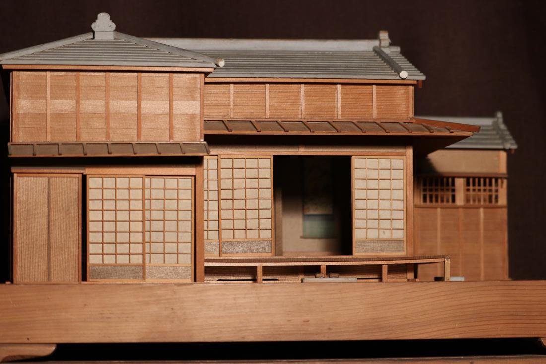Rare Japanese Traditional House Model with Presentation - 5