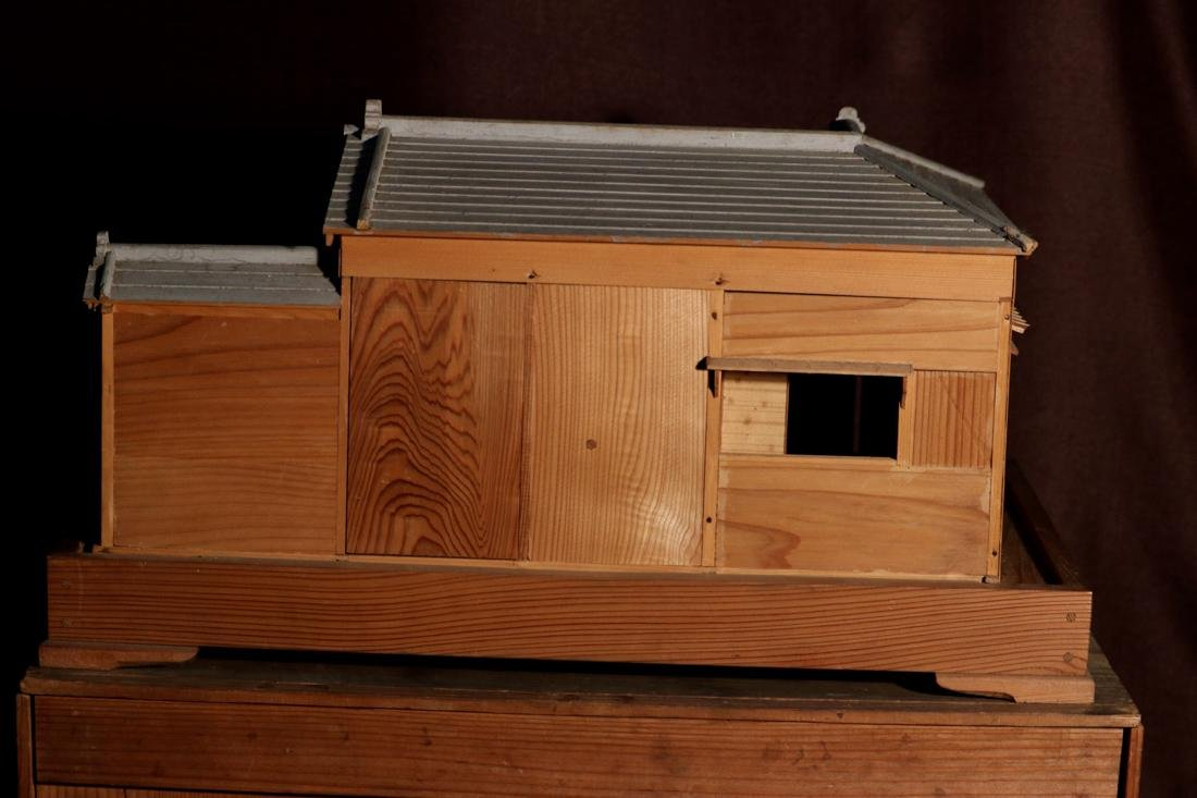 Rare Japanese Traditional House Model with Presentation - 8