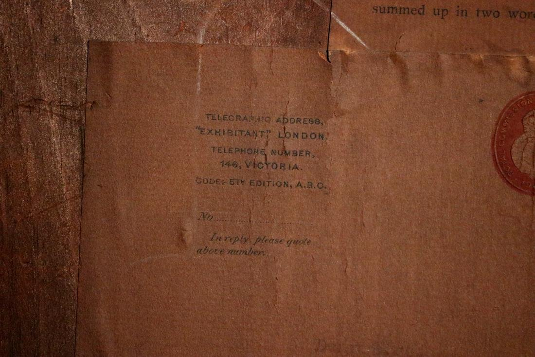 Etching by Phil May - Property of Albert Gallatin - 10