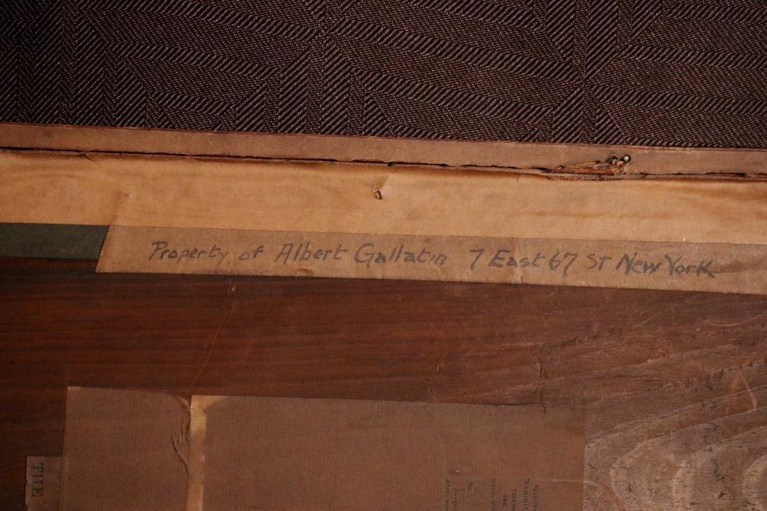 Etching by Phil May - Property of Albert Gallatin - 6