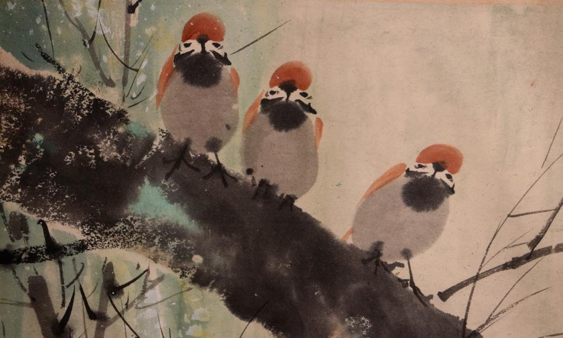 Chinese Painting of Pair Bird - Albert Gallatin Estate - 2
