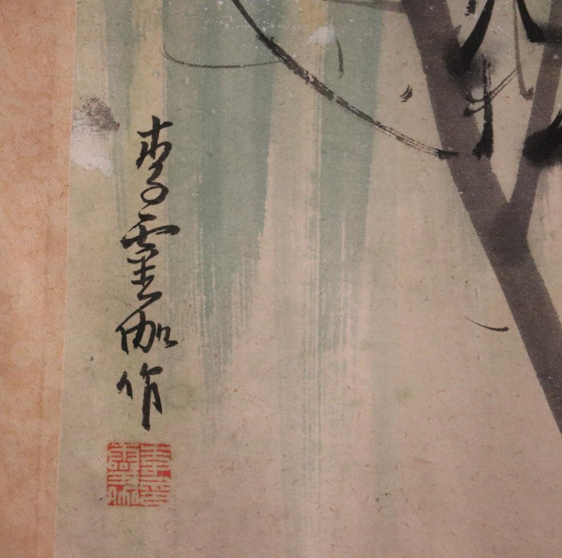 Chinese Painting of Pair Bird - Albert Gallatin Estate - 3