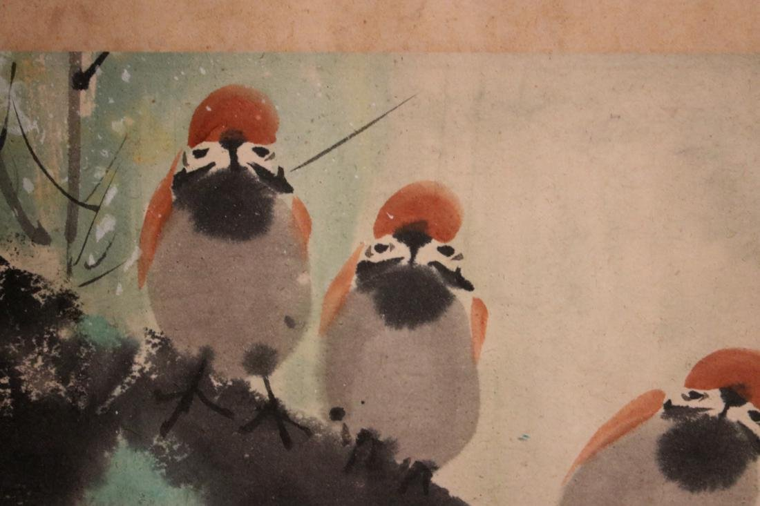 Chinese Painting of Pair Bird - Albert Gallatin Estate - 4
