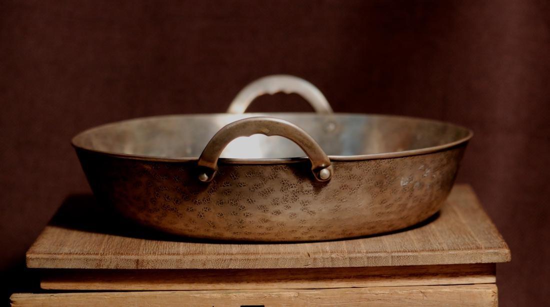 Japanese Sterling Silver Shahu Shabu Hot Pot with - 3