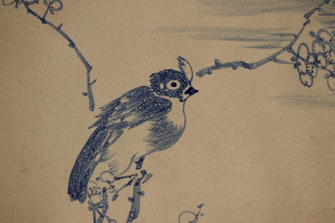 Chinese Yixin Platter with Bird Scene - 2