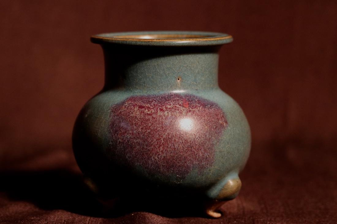Chinese Jun Yao Porcelain Censer