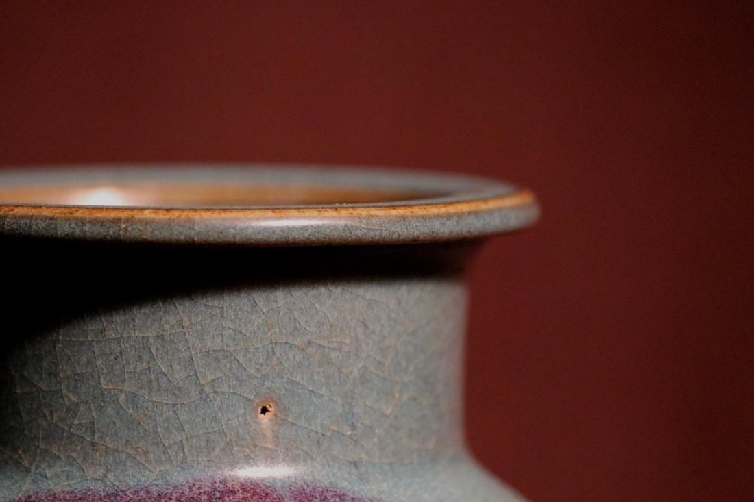 Chinese Jun Yao Porcelain Censer - 3