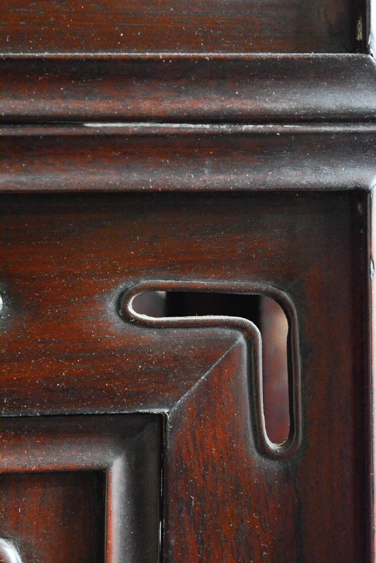 Large Chinese Rosewood Floor Screen - 7