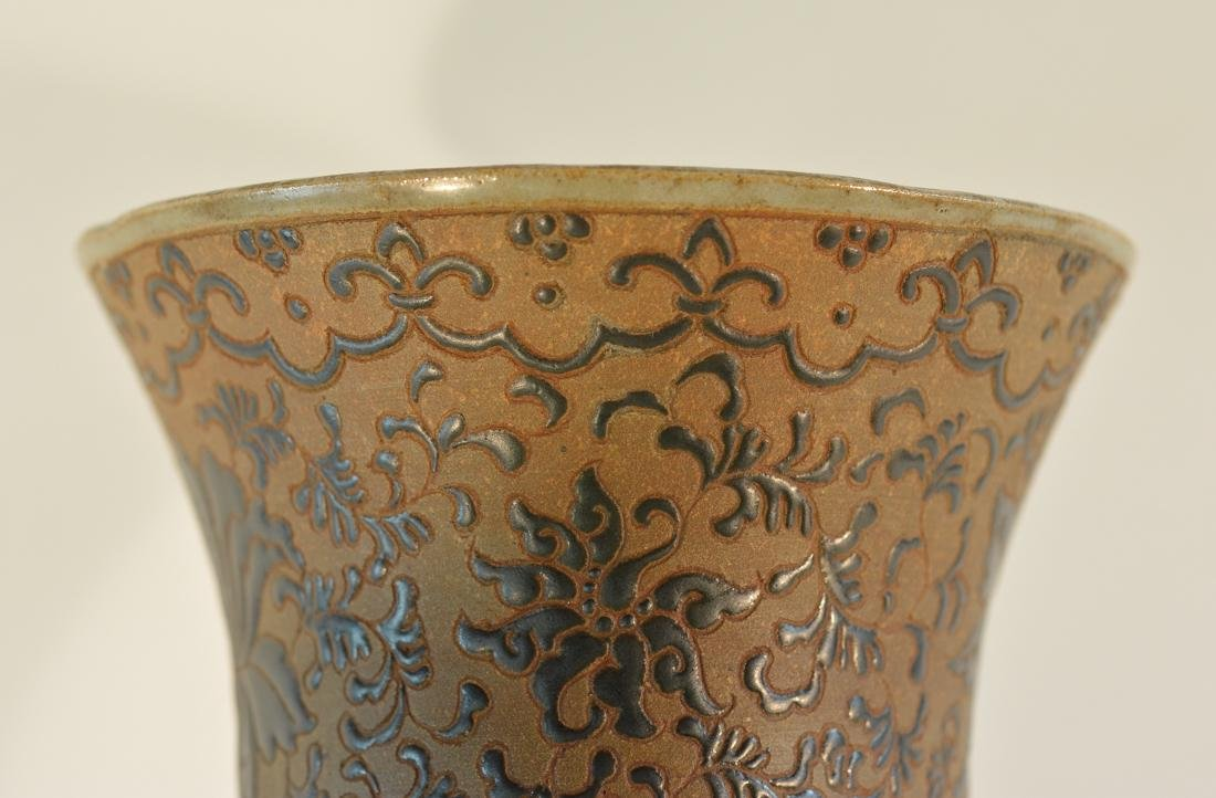 Chinese Japanese Terra Cotta Yixin Studio Porcelain - 5
