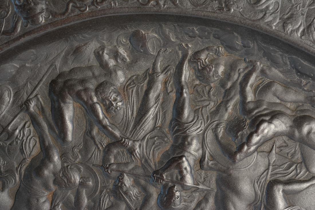 Large French Grand Tour Platter - Battle of Babylon - 3