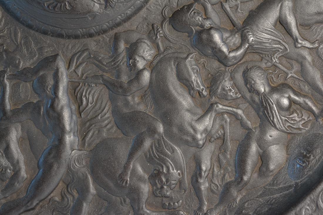 Large French Grand Tour Platter - Battle of Babylon - 5