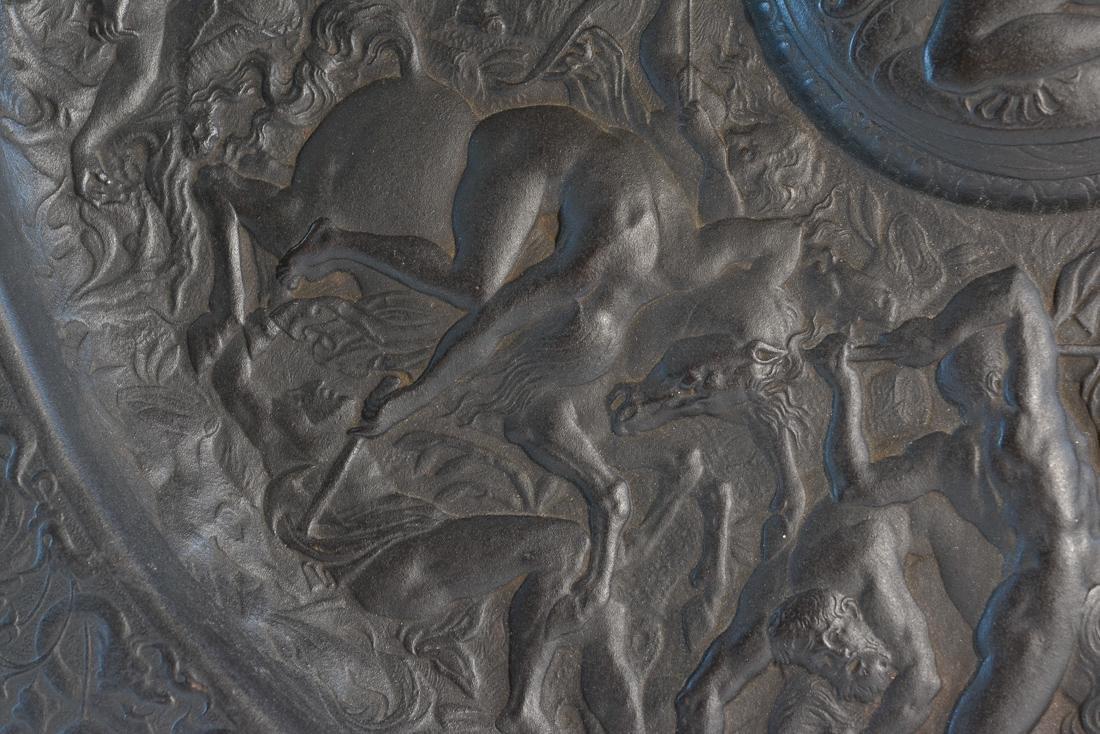 Large French Grand Tour Platter - Battle of Babylon - 6