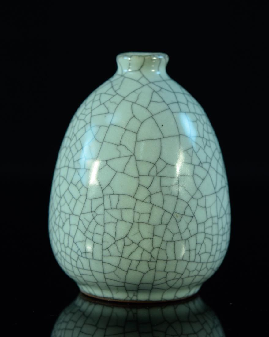 Chinese Ge Crackle Glazed Vase