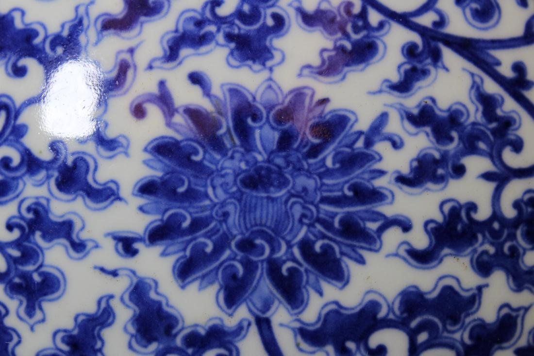 Chinese Blue white Porcelain Vase with Handle - Albert - 4